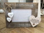 Shabby personalised Chic Photo Frame Auntie Aunty Great Aunt Gift  Present - 232651345425